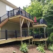 Deck Construction in Asheville, North Carolina
